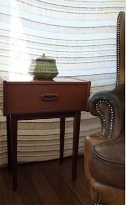 vintage mid century Parker retro side or bedside table RARE and very collectable