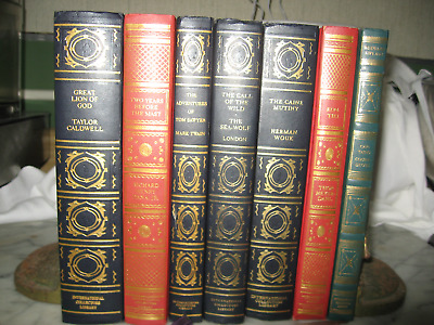Lot of 7 vintage International Collectors Library Books