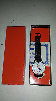 Le Jour Tony Tiger vintage watch Kelloggs Froster Flakes cereal in box