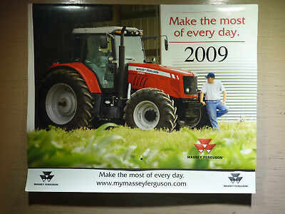 Massey Ferguson Calendar 2009, Farm Tractors & Equipment