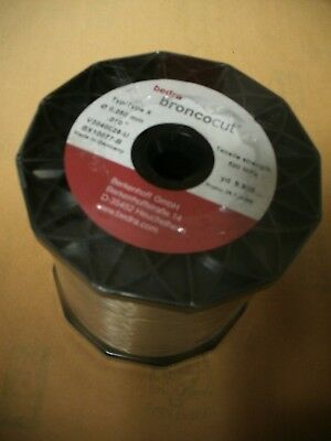 Bedra Broncocut Type X EDM Wire BX10077-B .01 Inch .250mm 9.8 Pound Spool