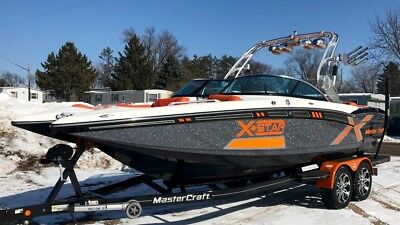 2013 MasterCraft X-Star, 137 Hours, Video attached, Inoperable Digital Dash