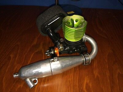Axial 28RR Nitro engine jp exhaust centro air filter clutch and clutch bell