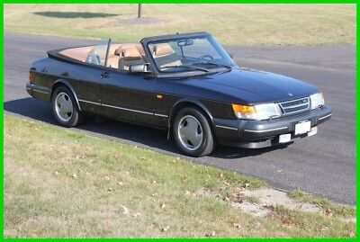 1994 Saab 900 Turbo 1994 Turbo Used 2L I4 16V Manual FWD Convertible NO RESERVE!