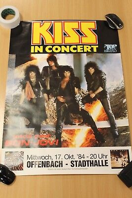 Kiss Poster,  Kiss, In Concert, Germany ?.