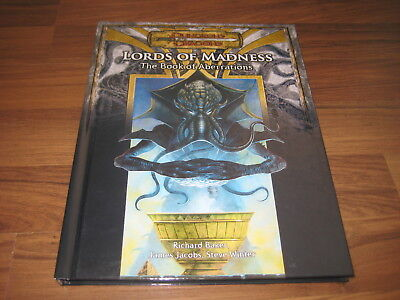 D&D 3.0 / 3.5  Lords of Madness: The Book of Aberrations Hardcover WotC 2005 TOP