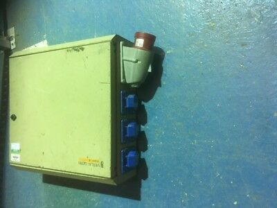 32a 3 phase to 6 x 16a stage power marquee band distribution distro generator