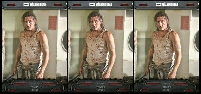 3x 2018 VERSUS WAVE III TOMAS The Walking Dead Card Trader Digital Card
