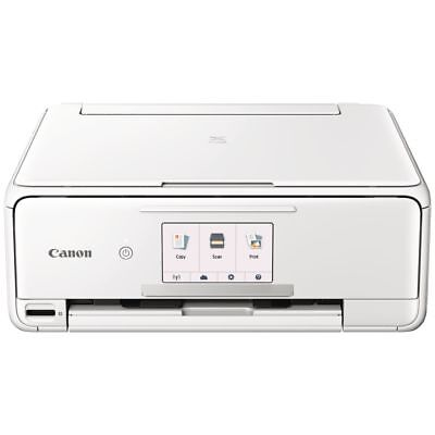 Canon PIXMA HOME Wireless Inkjet MFC Printer White TS8160W