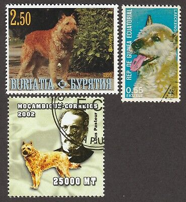 BELGIAN SHEPHERD LAEKENOIS *Int'l Dog Postage Stamps* Unique Gift*