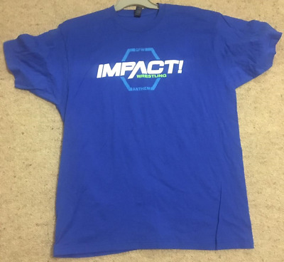 """New Wwe/tna Impact Gilban Cotton Wrestling """"xl Size T-Shirt"""" Official Product"""