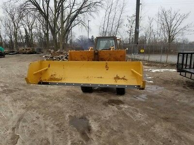 Snow Pusher Box Plow Loader 12' Ft New