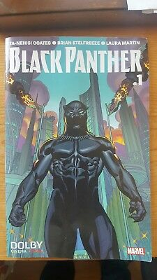 Marvel BLACK PANTHER COMIC BOOK #1 Variant  Opening Night 2018 (RARE)