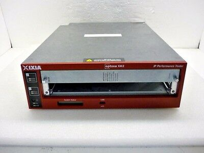Ixia Optixia XM2 Portable Chassis IP Performance Tester IxOS 6.60 - Ships Today!
