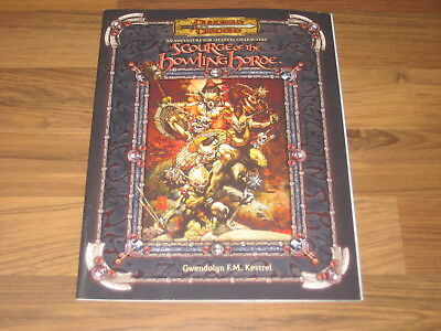 D&D 3.5 Scourge of the Howling Horde Softcover 2006 Adventure WTC51495 WotC