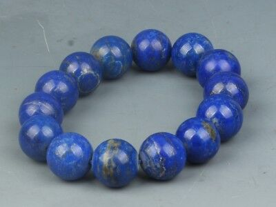 Chinese exquisite lapis lazuli Hand carved Bracelets