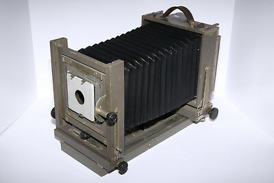 Antique ANSCO 5x7 Universal View Camera - Large Format Field Camera - LOOK!