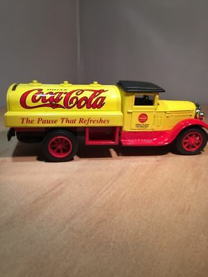 ERTL Coke Coca-Cola 1931 Tanker Die-Cast Metal Truck Coin Bank