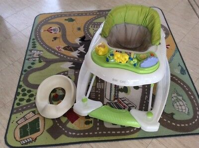 Baby Walker and Toddler Toilet Seat