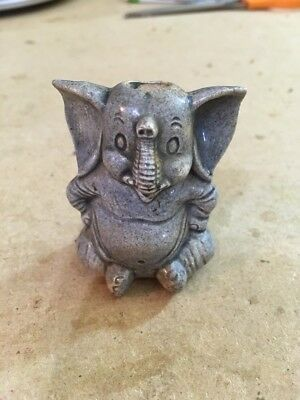 1975 Western Publishing Co Elephant Figurine Dumbo? Republican? Cartoon?