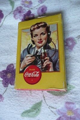 WW2 COKE Coca-Cola Military Airplane Spotter Playing Cards. Nr.MINT