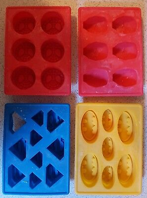 Superhero Silicone Moulds