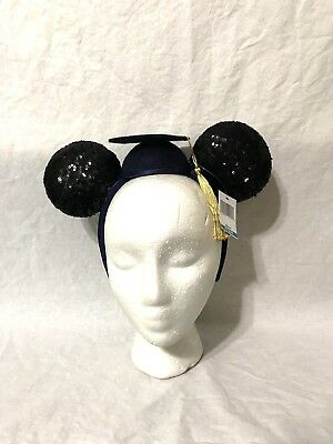 Disney Parks 2018 Graduation Minnie Ears Headband w/ Tassel