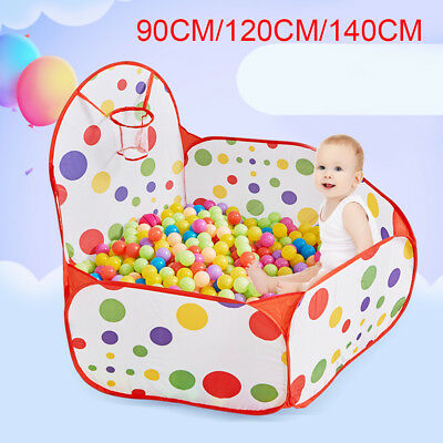 New Portable Indoor Kids Baby Children Game Play Toy Tent Ocean Ball Pit Pool T