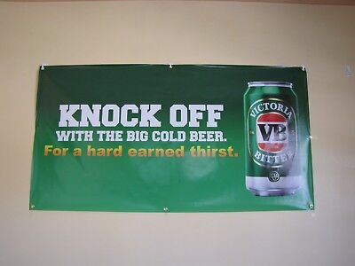 Victoria Bitter VB Beer PVC Vinyl Banner Flag Poster Sign 1000x1800mm