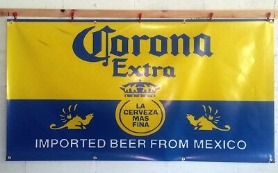 Corona Beer PVC Vinyl Banner Flag Poster Sign 1000x1800mm