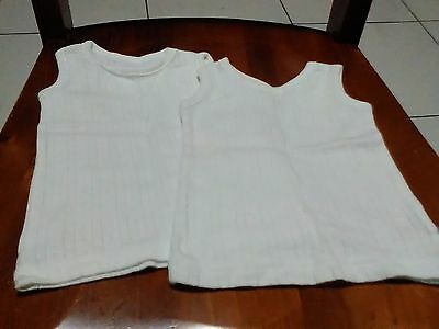 Baby Girls / Boys Singlet - Vest Set .... EXCELLENT NEAR NEW CONDITION