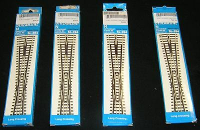 Peco SL-394 N Scale Long Crossing X 4