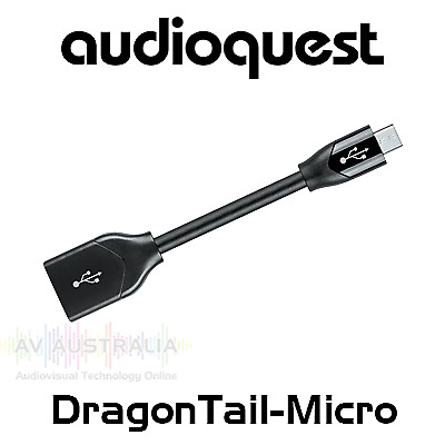 NEW AudioQuest DragonTail For Android Devices from AV Australia Online