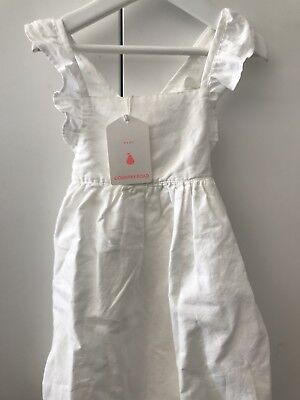 BRAND NEW Country Road Baby Girls White Dress 18-24mths