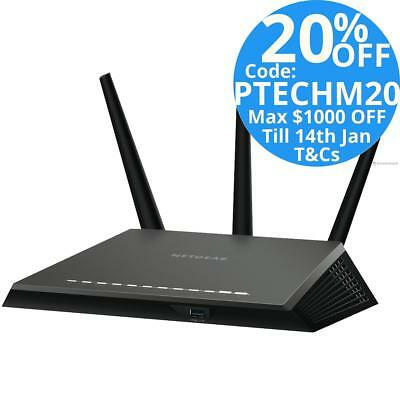 Netgear Nighthawk D7000 AC1900 Dual Band Wireless GbE ADSL2+ Modem Router