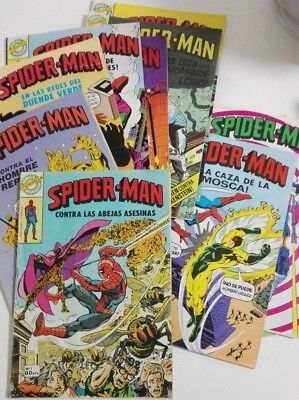 SPIDERMAN Comics BRUGUERA LOTE Nºs 1 al 10