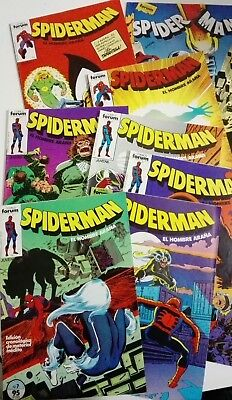SPIDERMAN Comics FORUM LOTE Nºs 7 al 14