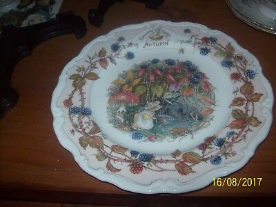 Royal Doulton Brambly Hedge Autumn - Eight Inch Plate
