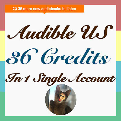 Speed Shipping audible US 36 credit at once in single account Sepical DEAL