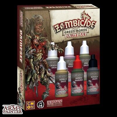 Zombicide: Green Horde Paint Set The Army Painter Brand New AP-WP8031
