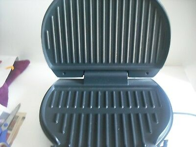 Contact Grill & Sandwich Press.Easy clean.toasties,kebabs,burgers,sausage