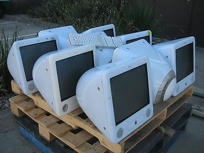 BULK LOT PALLET OF 9 x COMPUTERS, APPLE EMAC A1002.
