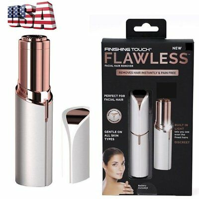 Electric Women Epilator Finishing Touch Flawless Hair Removal Razor Painles ER