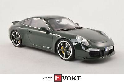 Porsche 911 (991) Club Coupe, dark green, 1:18, GT Spirit