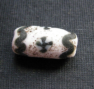Аncient Artifact Rare Byzantine Roman Mosaic Glass Eye Bead