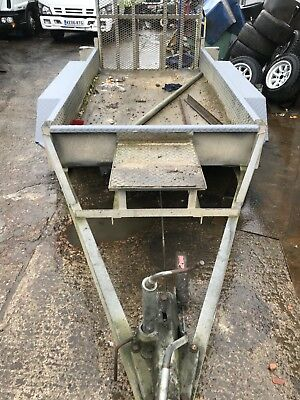 ifor williams plant trailer 8 x 4