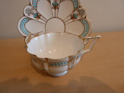 Very Pretty Foley Wileman Cup And Saucer