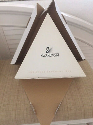 Rare 1998 Swarovski Dealer Box Storage For 12 Annual Ornaments  Inner/outer Box