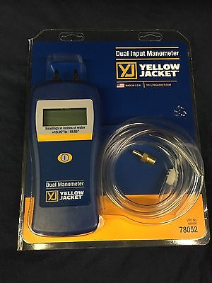 Yellow Jacket Dual Port Manometer - 78052