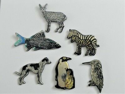 Pins  Animaux  6 Pins Differents  Grands Format